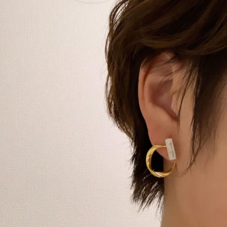 ornament  gold ・silver  pierce