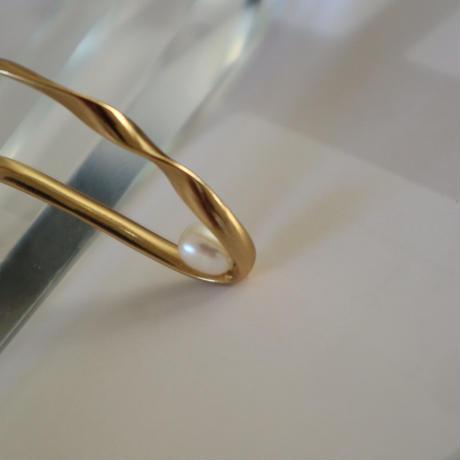 【nikori】 twist type gold / silver