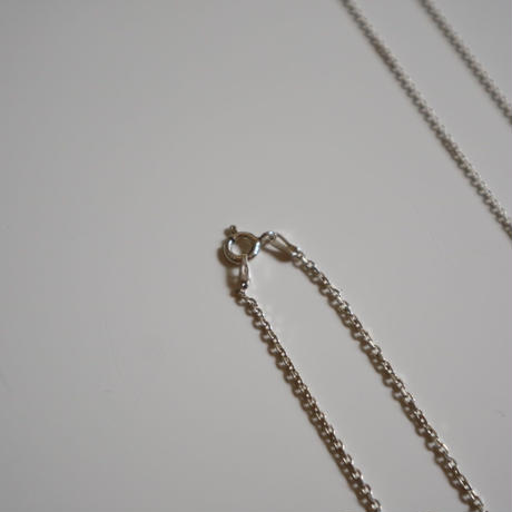 Paw silver necklace  slim chain (45cm)008N-45