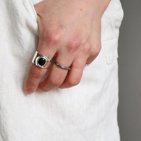 Paw silver ring #004R