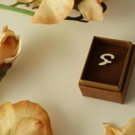 【Paw】small pierced  (A~Z) #004