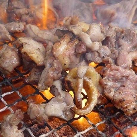 おやべ火ね鶏 モモ塊2Kg (凍結品)