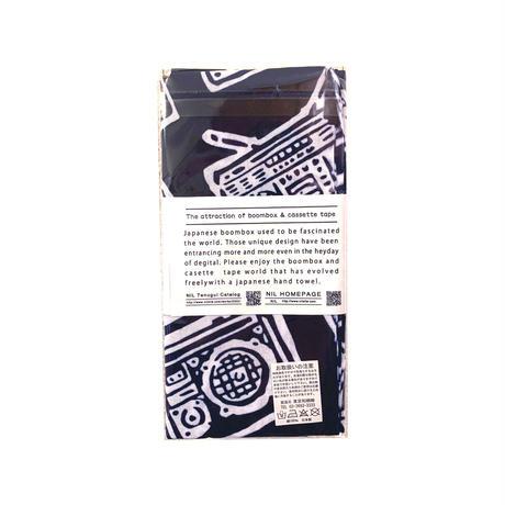 注染手拭い/ラジカセ&カセットテープの魅力