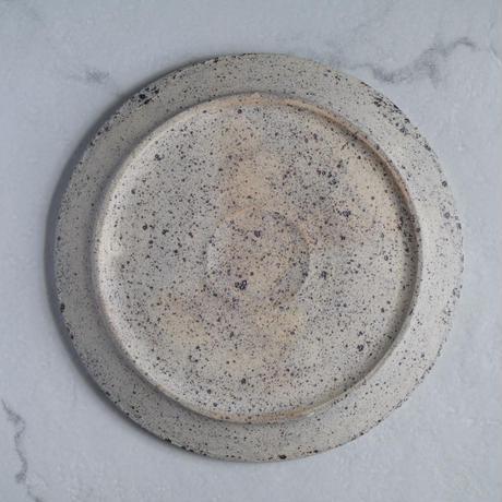 白砂 フチタチ皿
