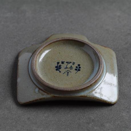 染付 カメラ豆皿 / B 水玉