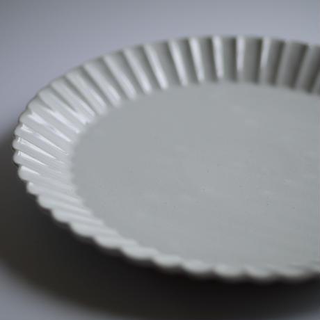 Barbarie main plate BLANC