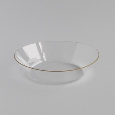 金縁 オーバル鉢