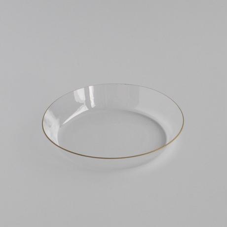 金縁 浅皿