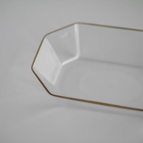 金縁 長方小鉢