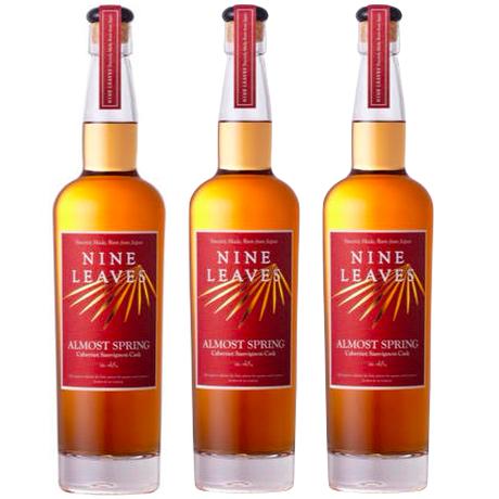 【3本セット/送料無料】国産ラム酒 NINE LEAVES ALMOST SPRING PX Cask(オルモストスプリング〜PXカスク〜)