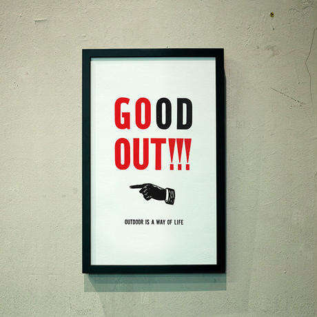 GO OUT to GOOD OUT(Left ver.)