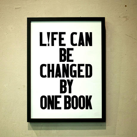 L!FE CAN BE CHANGED BY ONE BOOK