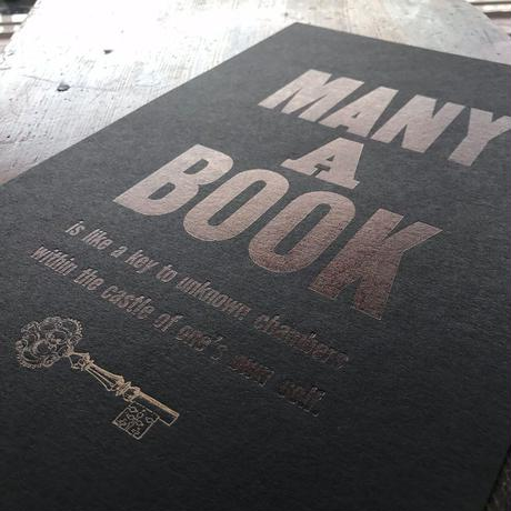 MANY A BOOK(Black-Paper ver.)