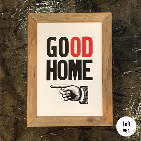 GO HOME to GOOD HOME(Right or Left  ver.)