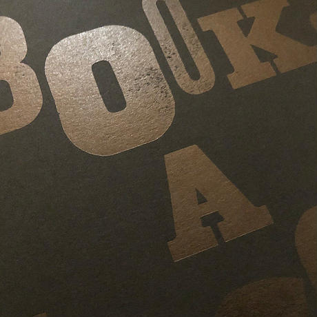 BOOKs  A  NARCOTIC(Black-Paper ver.)