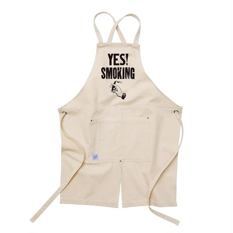 APRON(YES! SMOKING)NATURAL / CAMEL