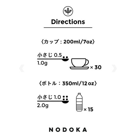 NODOKA スティックお試しセット