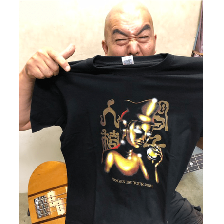 弥勒像Tシャツ