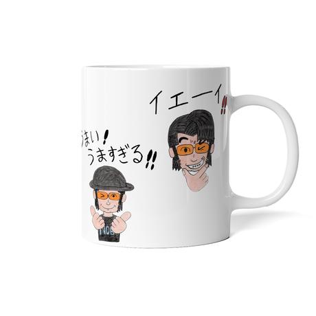 スタンプマグカップ(ノブ)