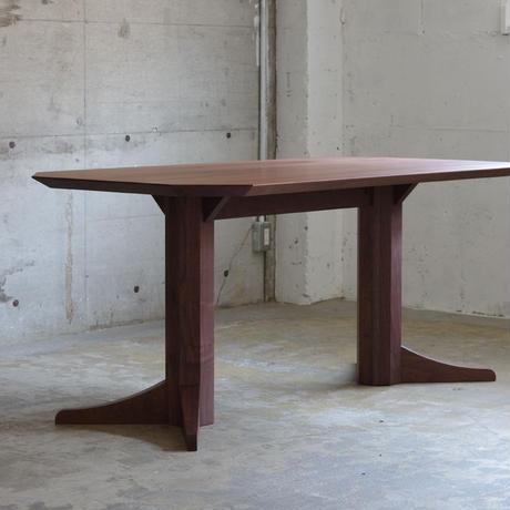 DORTE ダイニングテーブル 幅1600/ウォールナット