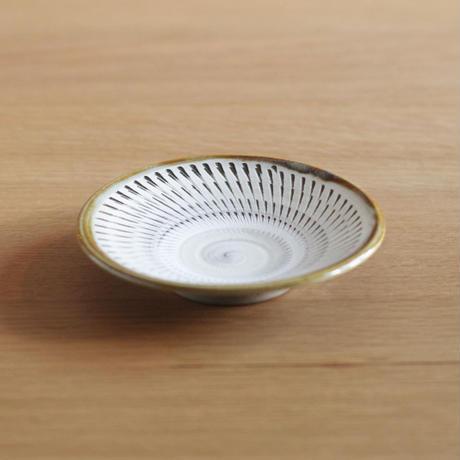 小鹿田焼(柳瀬晴夫窯) 4寸皿