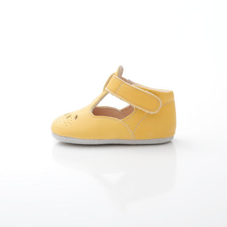T-Strap Shoes  : c/# Yellow