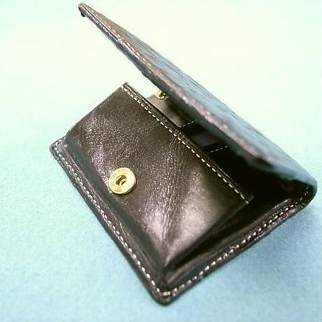 オーストリッチ駝鳥革コインケース