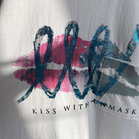 kiss with (un)mask T-shirt / Kiss of Leo