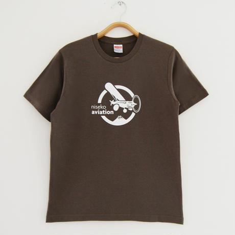 Xcub 羊蹄山 Tシャツ/T-Shirt Brown