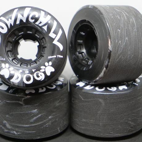 DOWNCHILL WHEEL < For dog BLACK > 66mm