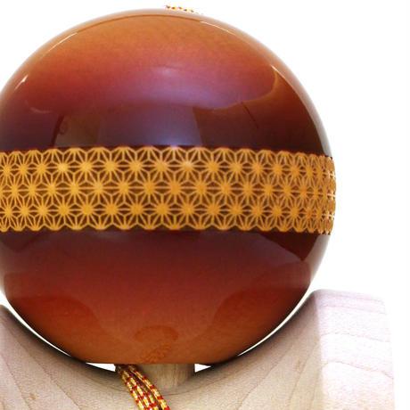 【New】日本の職人が最高の技を施した木製けん玉「錦玉〜横段 麻の葉(よこだん あさのは)〜」