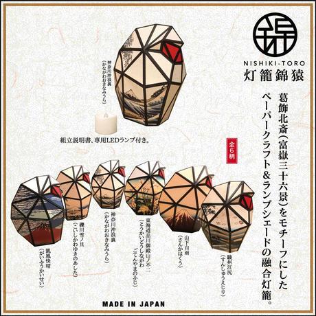 Paper Craft & Lamp Shade 灯籠錦猿(とうろうにしきさる)