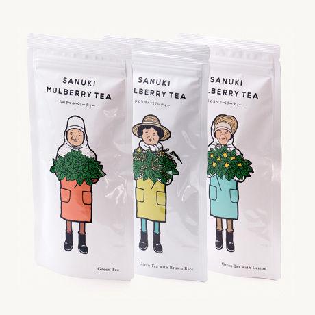 さぬきマルベリーティー お子様や妊婦の方も安心なお茶【お試し3種セット | 送料無料 】