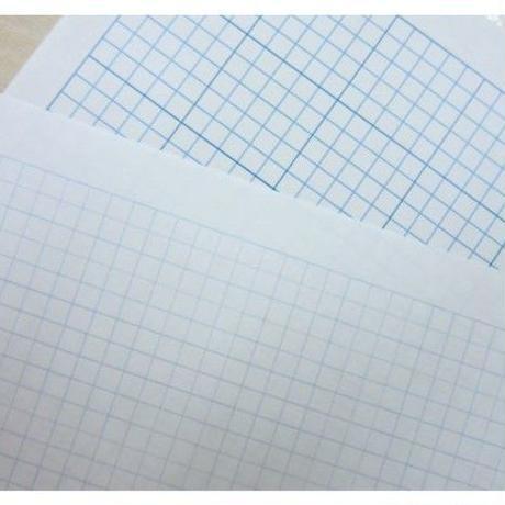 図案創りに便利な3ミリ方眼紙(A4サイズ)2種類セット