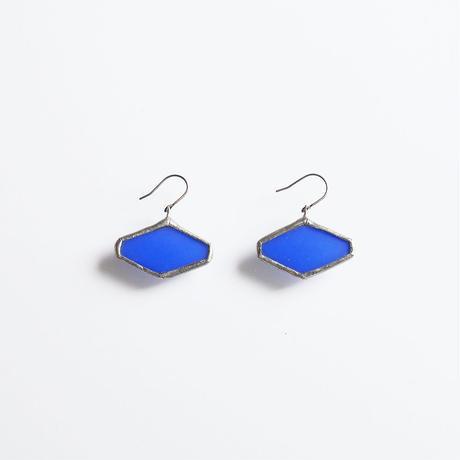 hexagon pierce/blue