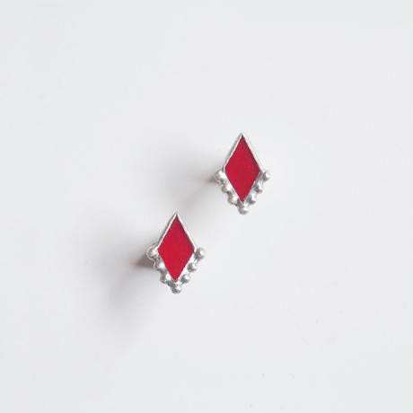 bubble rhombic piace / red / S