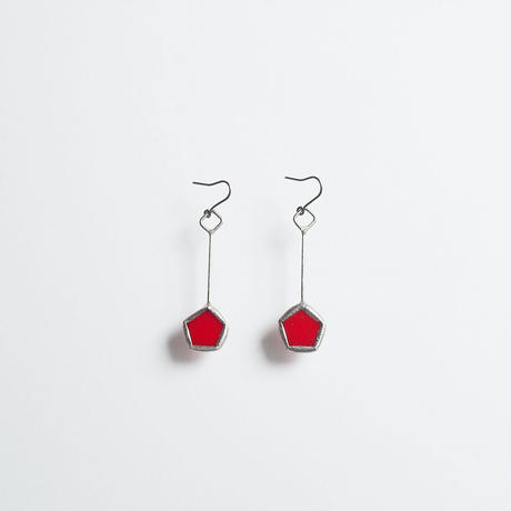 pentagon pierce/red