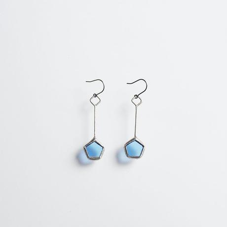 pentagon pierce/light blue