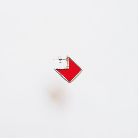 square fragment piace / S / red