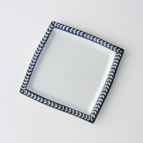 リーフ角皿 L