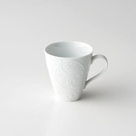 ペイズリーレリーフ マグカップ