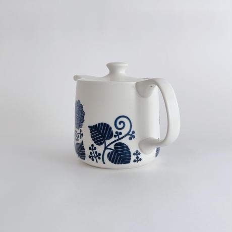 フロール ポットL(茶こし付)