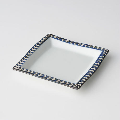 リーフ角皿 M