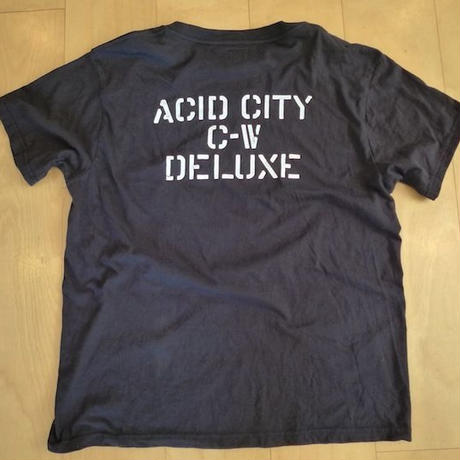 DELUXE x NITELIST ACID CITY 2 Limited Tee Shirts BLACK 再入荷!!