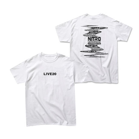 LIVE20 TEE (BLACK or WHITE)