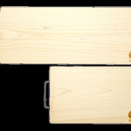 宮崎県産ひのき100無垢一枚物 まな板(Sサイズ) キャンプなどに