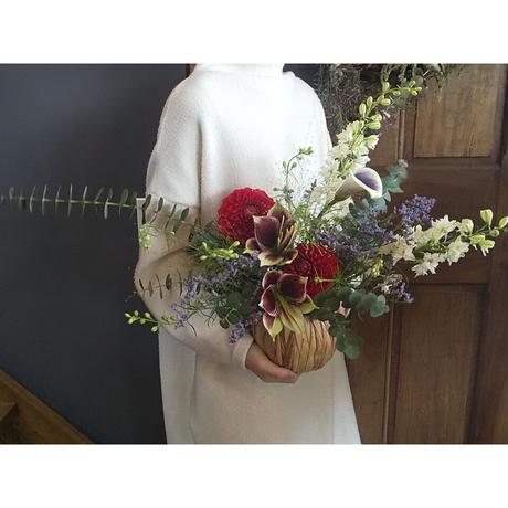 fresh flower arrangement 店頭受取