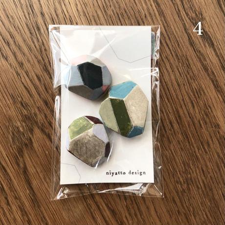 きれいな石ころマグネット
