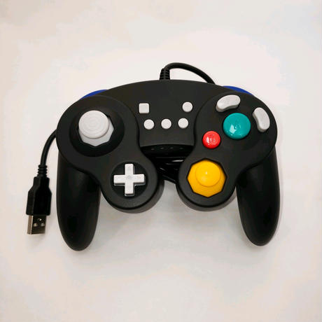 ニンテンドースイッチ GC風 USB 有線コントローラー ゲームパッド
