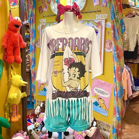 Betty Boop T-shirt Surfboards